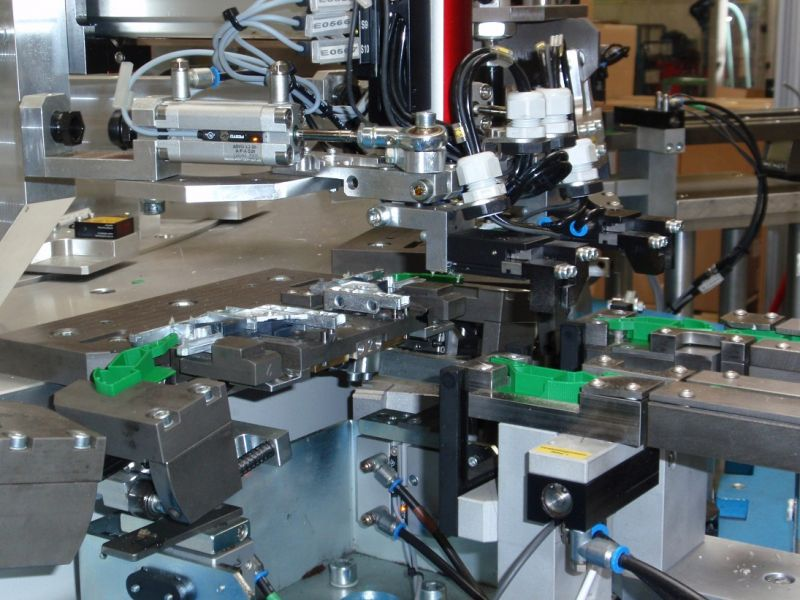 Assembly Equipment For The Furniture Industry Wieser